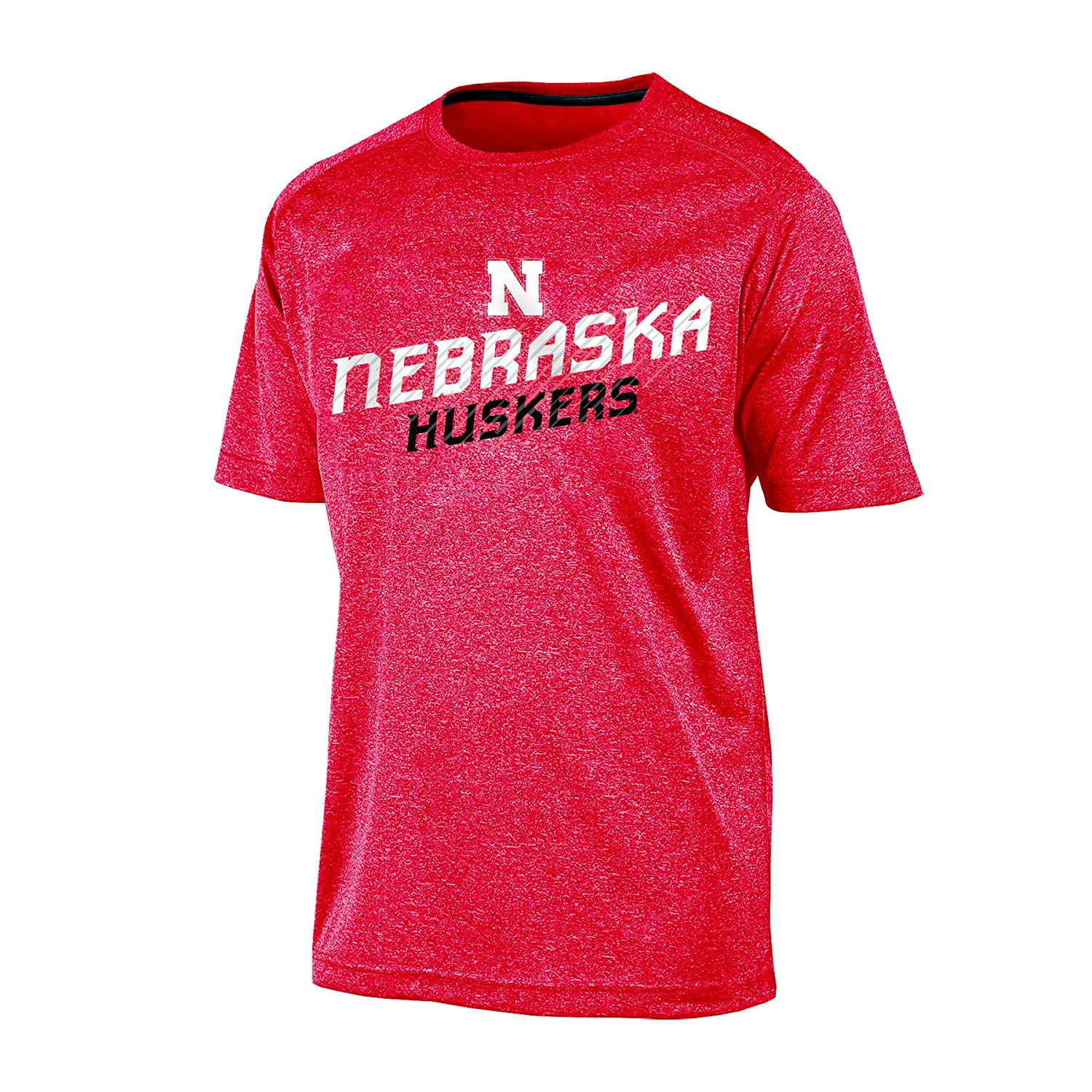 Champion NCAA Mens Persistant Short Sleeve Synthetic T-Shirt