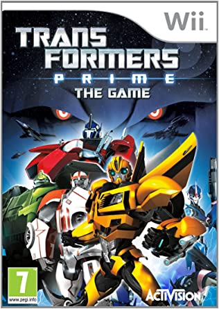 transformers prime nintendo wii amazon co uk pc video games rh amazon co uk Transformers Electrical Warriors Transformers Instruction Manual