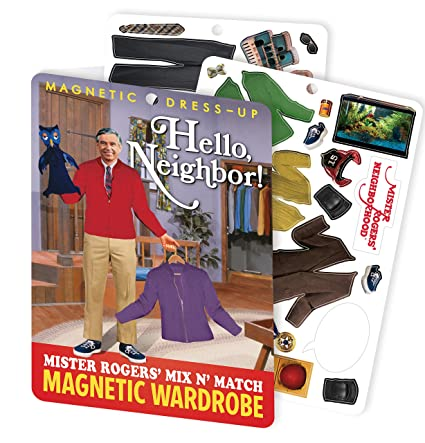 Mr. Rogers Magnetic Dress Up Kit