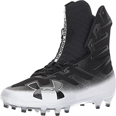 11.5 //Black Under Armour Mens Highlight MC Football Shoe Black 001