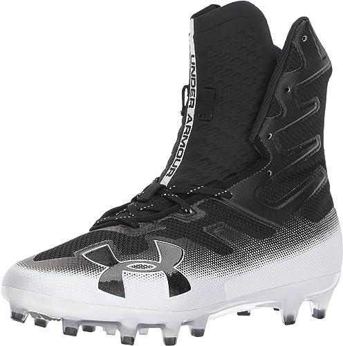 Under Armour Men Highlight MC Football Lacrosse Cleats Shoes 3000177 Black