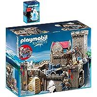 Playmobil Knights Set en 2 parties 6000 6042 Château Des Chevaliers + Fantôme Avec Led Multicolore