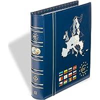 Leuchtturm 302742 Álbum para Monedas Vista, de Euro