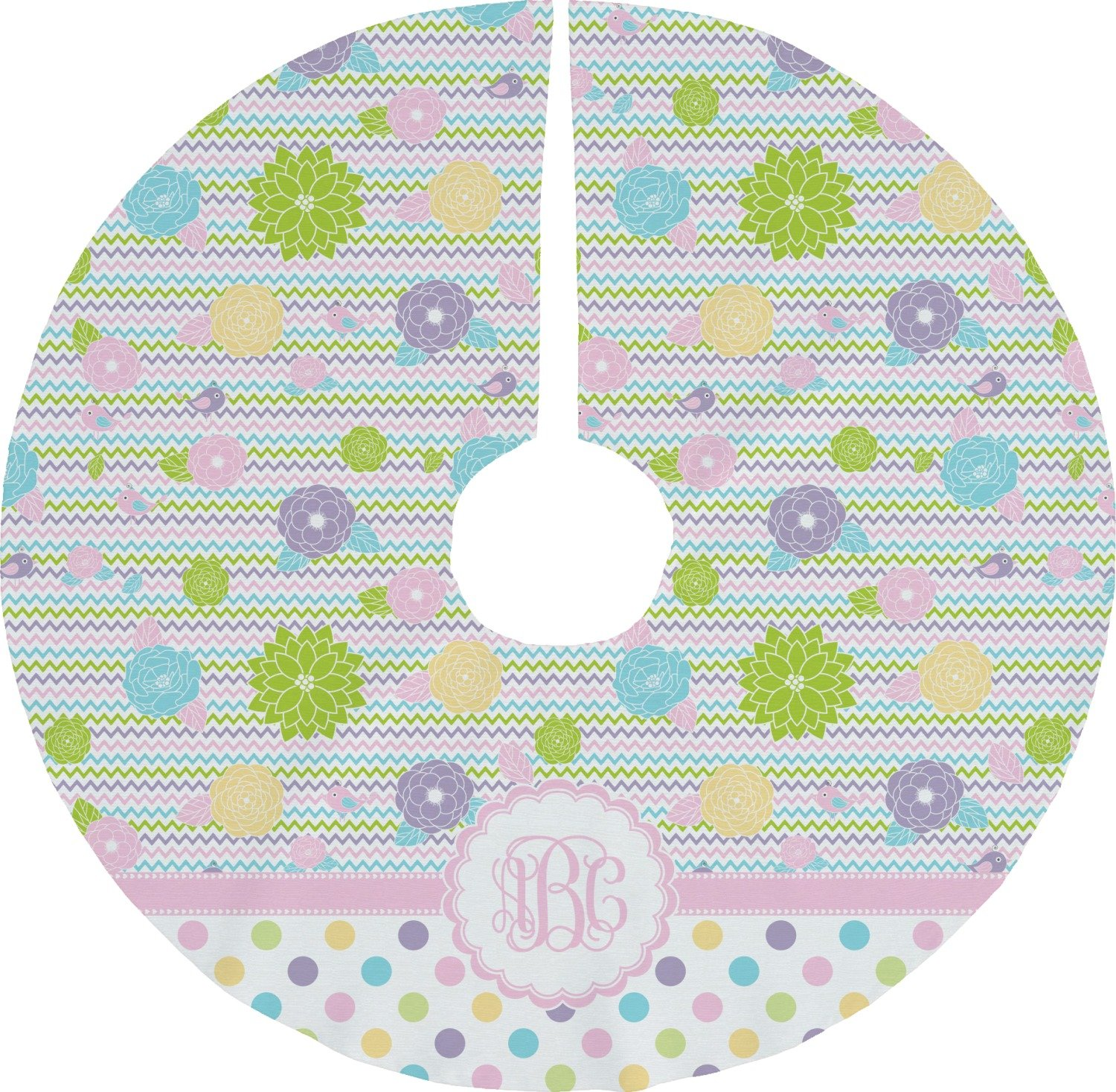 RNK Shops Girly Girl Tree Skirt (Personalized)