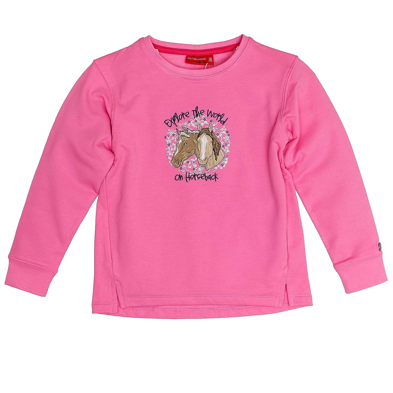 Salt & Pepper Girl's Sweat Horses The World Sweatshirt SALT AND PEPPER 75111260