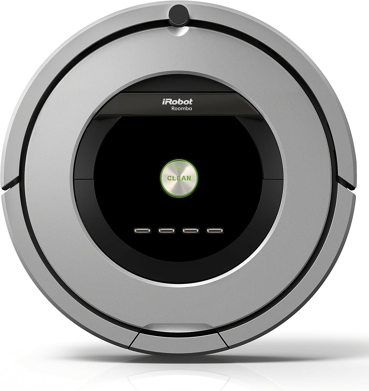 iRobot Roomba 886 aspiradora robotizada Sin bolsa Negro, Gris ...