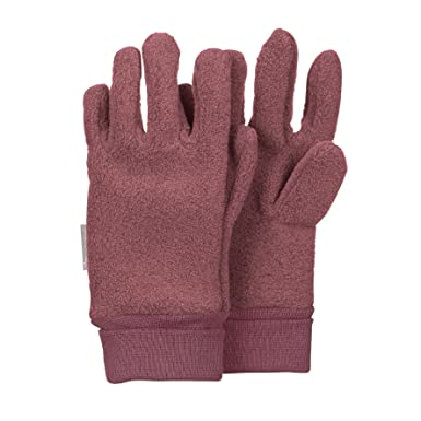 Eisengrau Sterntaler Fingerhandschuhe f/ür Kinder Grau