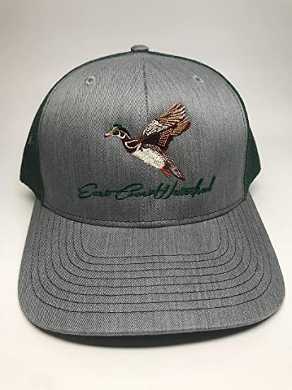 85e37a044bb Amazon.com   Wood Duck Waterfowl Hunting Trucker Hat