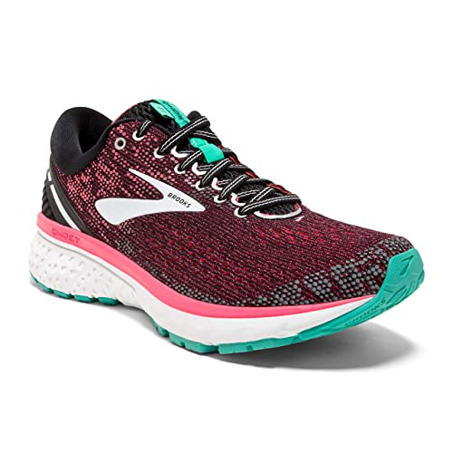 Brooks Ghost 11, Zapatillas de Running para Mujer, Multicolor (Black/Pink/Aqua 017), 36.5 EU: Amazon.es: Zapatos y complementos
