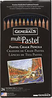 product image for General Pencil 4401-24A Multi Pastel Pencils, 24-Pack