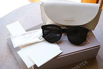 6ee0350337 Gentle Monster Sunglasses Black Peter Model (Black)  Amazon.co.uk ...