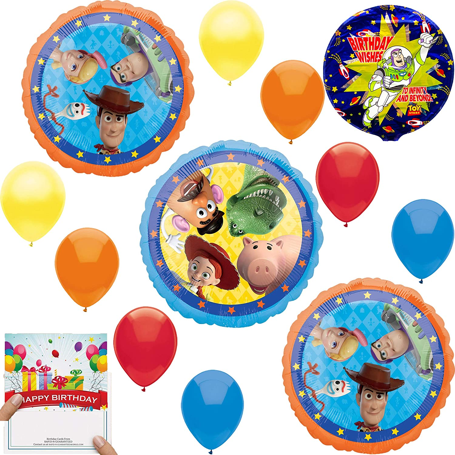 6 Ct. amscan Toy Story 4 Assorted Printed Latex Party Balloons
