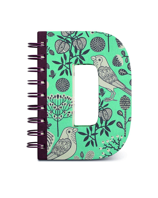 IF Alphabook D Quaderni a Forma di Lettera, Carta, Multicolore, 14x3x19 cm 5035393326043