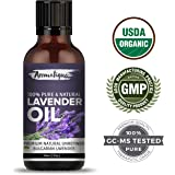 Lavender Essential Oil For Skin Care and Hair Growth 100% Pure and Natural Therapeutic Grade from Aromatique (USDA Certified Organic) (15)
