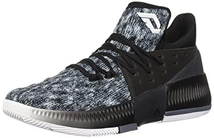 buy online e691c 765a2 adidas Dame 3 Shoe Mens Basketball 8.5 White-Core Black-Onix