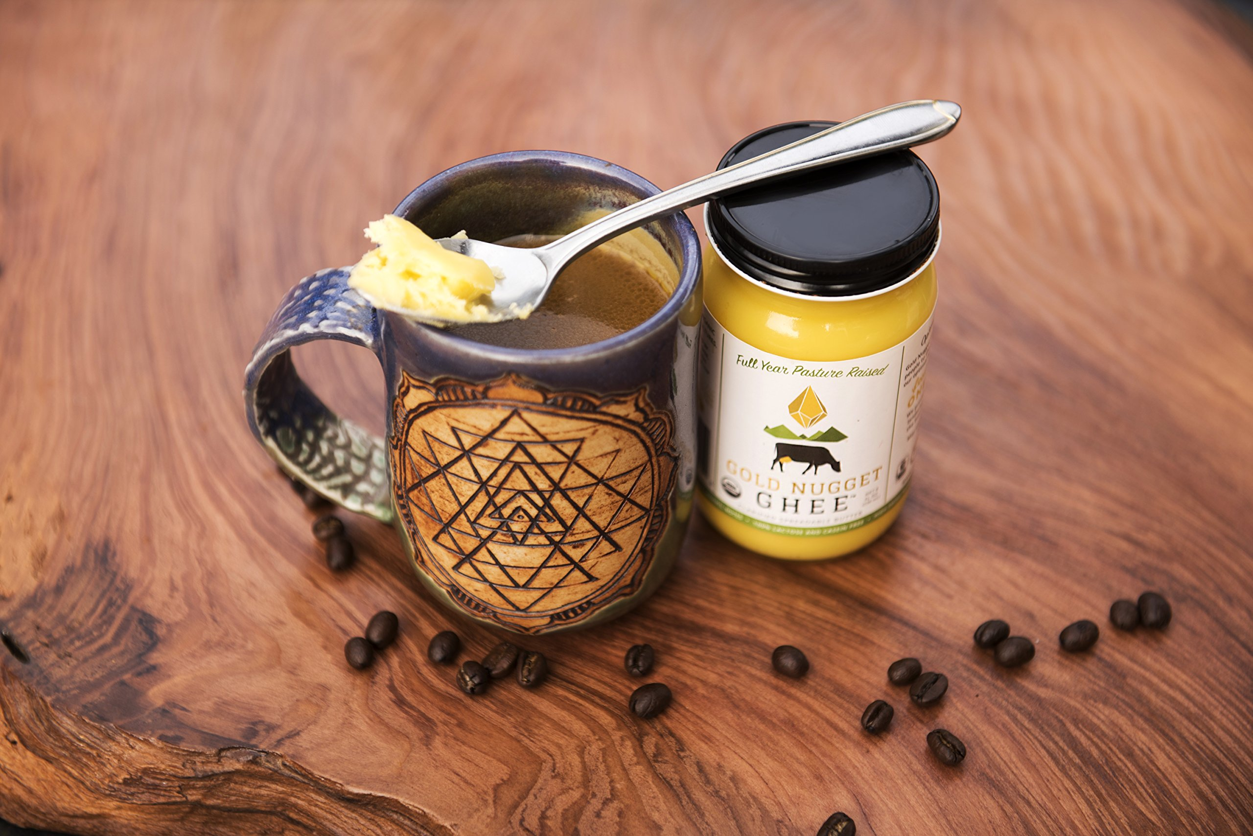 TRADITIONAL GHEE BY GOLD NUGGET GHEE USDA ORGANIC FULL YEAR PASTURE RAISED GRASS-FED BUTTER (16oz) by Gold Nugget Ghee (Image #4)