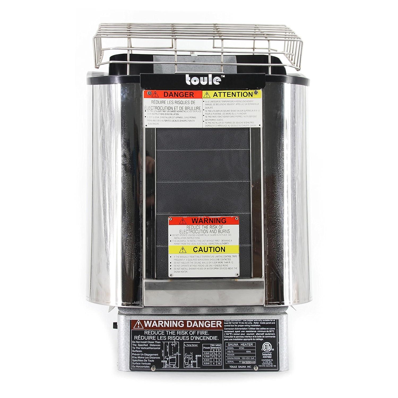 amazon com toule ntsc30 3 kw etl wet and dry sauna heater stove
