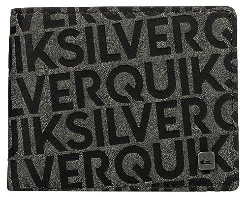 Quiksilver para Hombre Scrambler Cartera, Color Negro, Talla Talla única: Quiksilver: Amazon.es: Zapatos y complementos