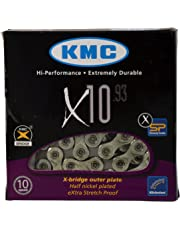 KMC X10.93, Nickel Plated 116 Link 10 Speed Chain