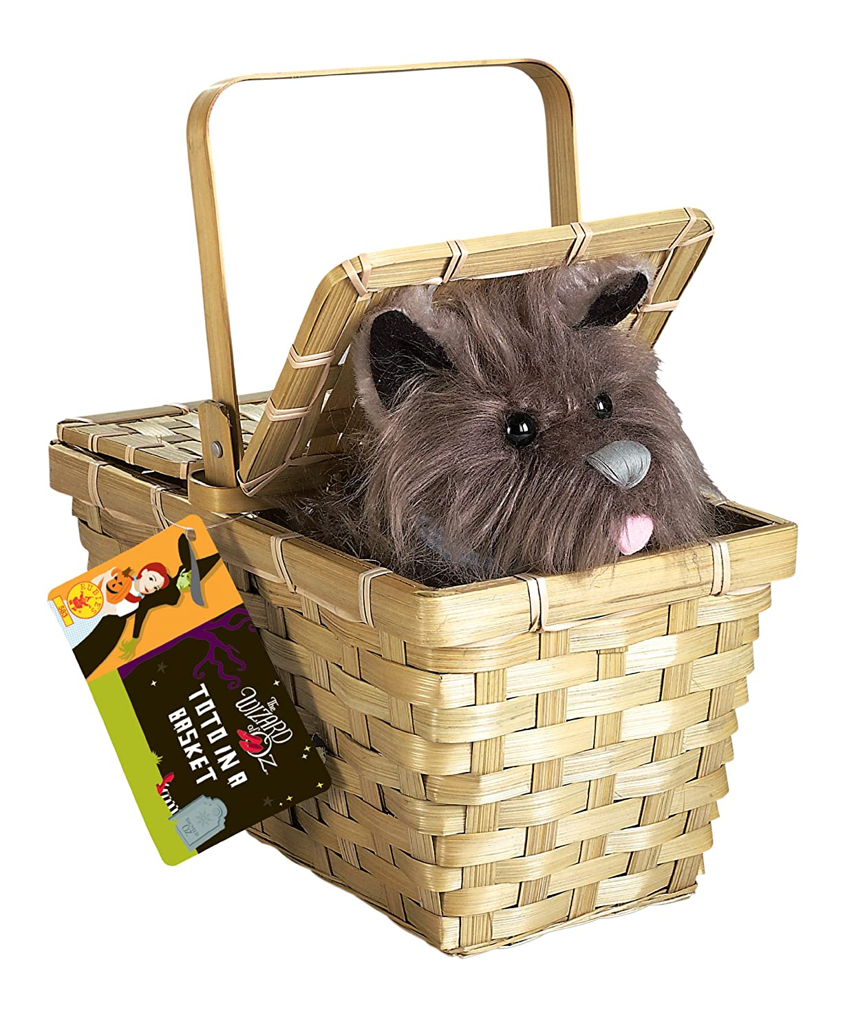 Wizard Of Oz Dorothy S Toto In A Basket Toys Games