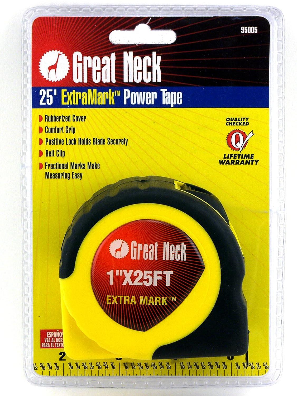Greatneck 95005 Extramark Power tape, 2,5 cm x 25 metri 5cm x 25metri