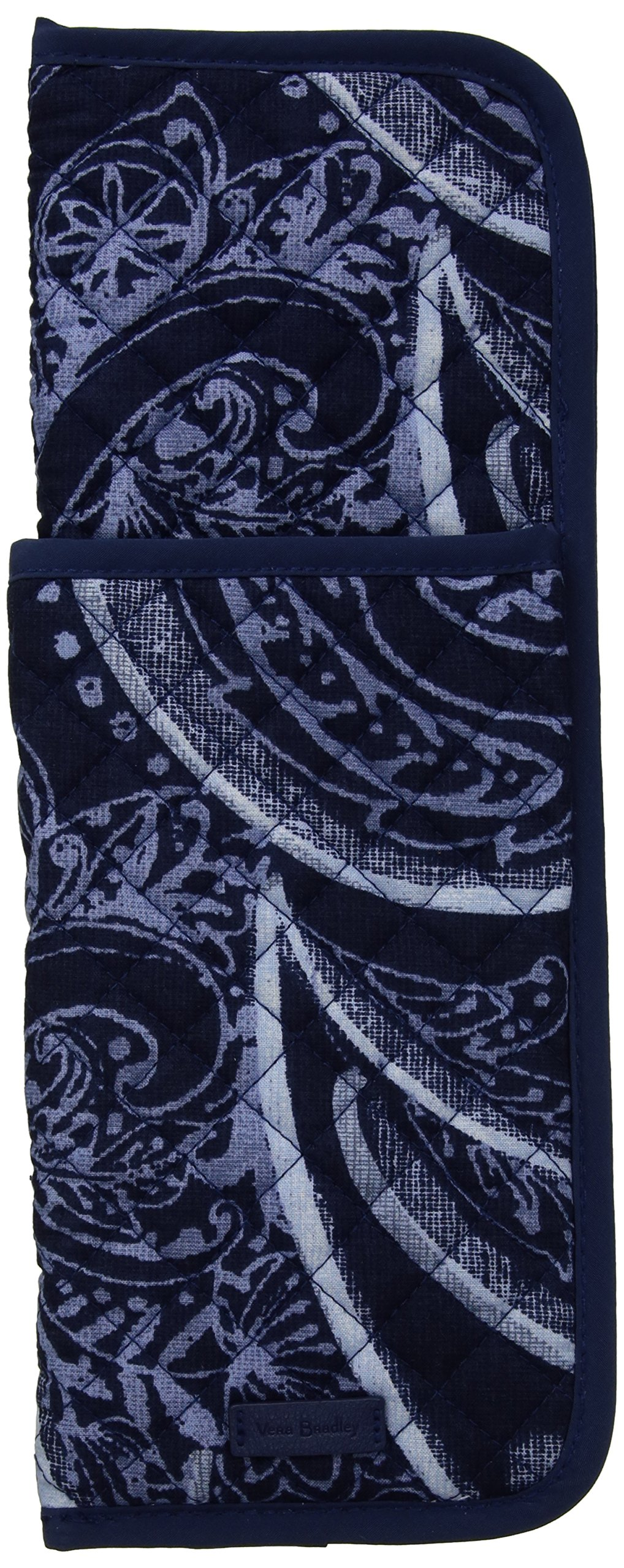 Vera Bradley Iconic Curling and Flat Iron Cover, Signature Cotton, Indio