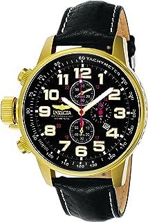 amazon com invicta men s 2770 force collection stainless steel invicta men s 3330 force collection lefty watch