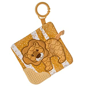 Mary Meyer Afrique Crinkle Teether Toy, Lion