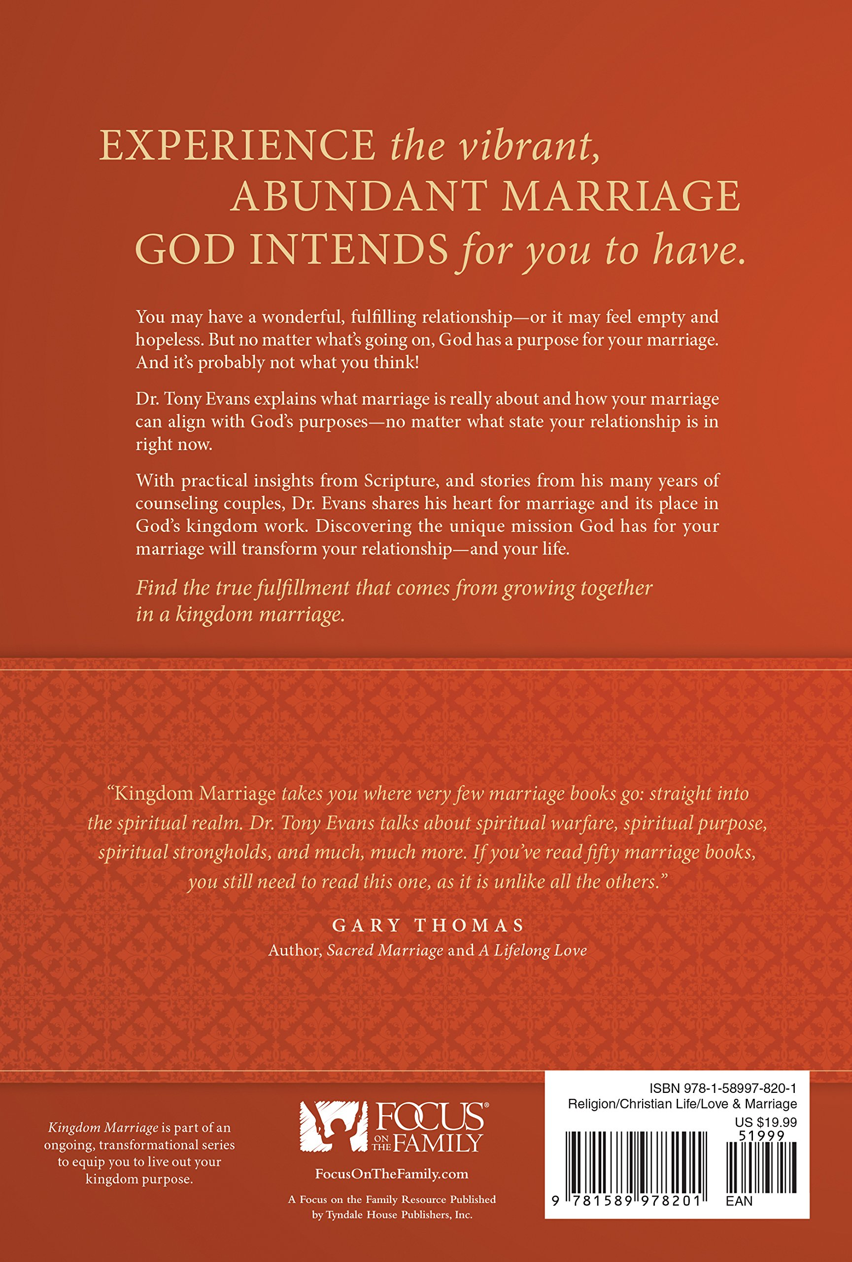 Kingdom Marriage: Connecting God\'s Purpose with Your Pleasure: Tony ...