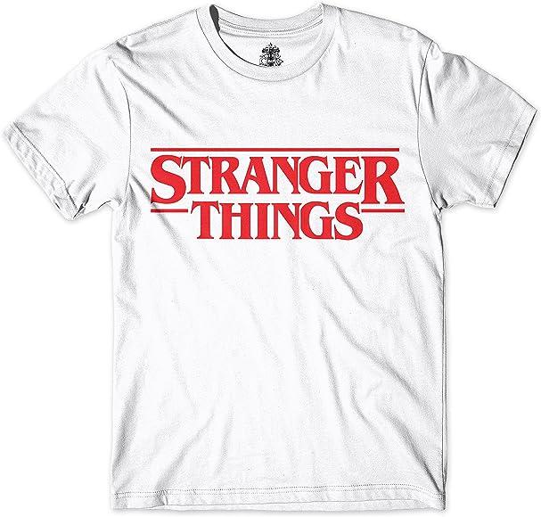 Camiseta Stranger Things (XS, Blanco): Amazon.es: Ropa y accesorios