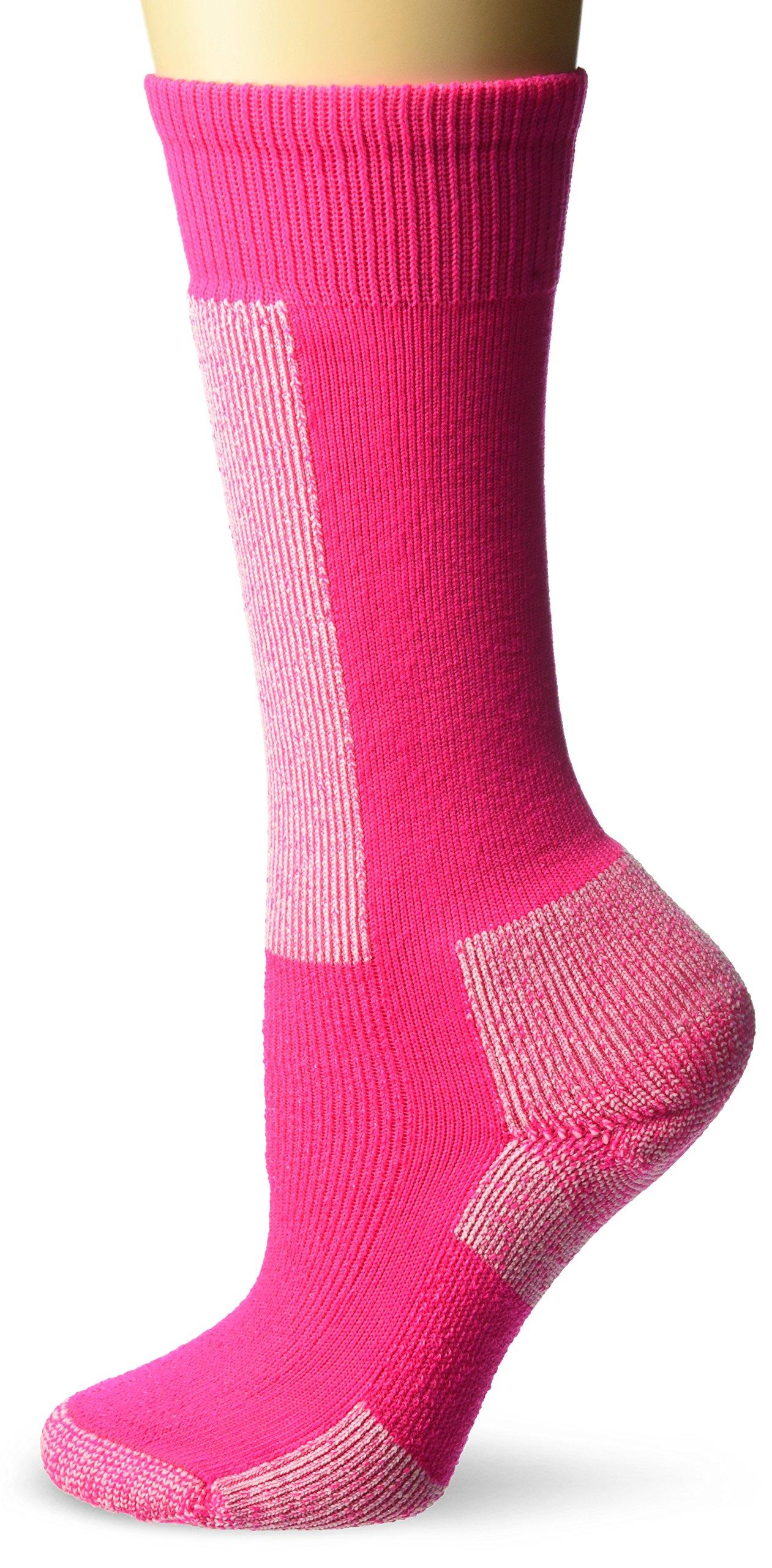 Thorlos Kids KS Snow Padded Over the Calf Sock, Pink, Small by Thorlo