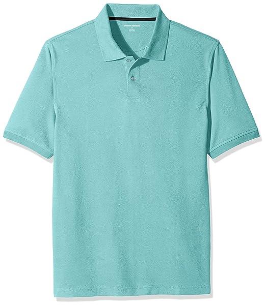 df33f66a6e1d7 Amazon Essentials Men s Regular-Fit Cotton Pique Polo Shirt  Amazon ...