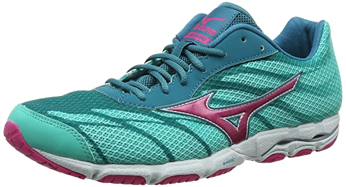 Amazon.com | Mizuno Wave Hitogami 3 Womens Running Shoes - SS16-6.5 - Blue | Road Running