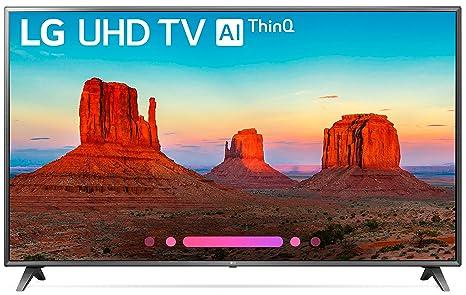 Amazon com: LG Electronics 75UK6570PUB 75-Inch 4K Ultra HD Smart LED