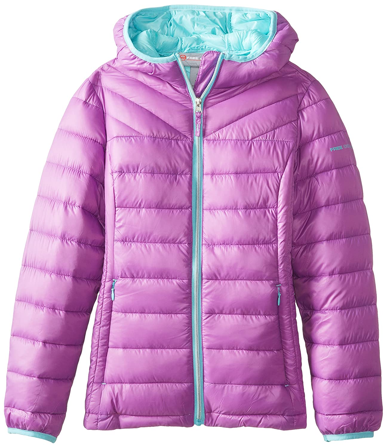 Amazon.com: Free Country Little Girls' Down Packable Jacket: Clothing