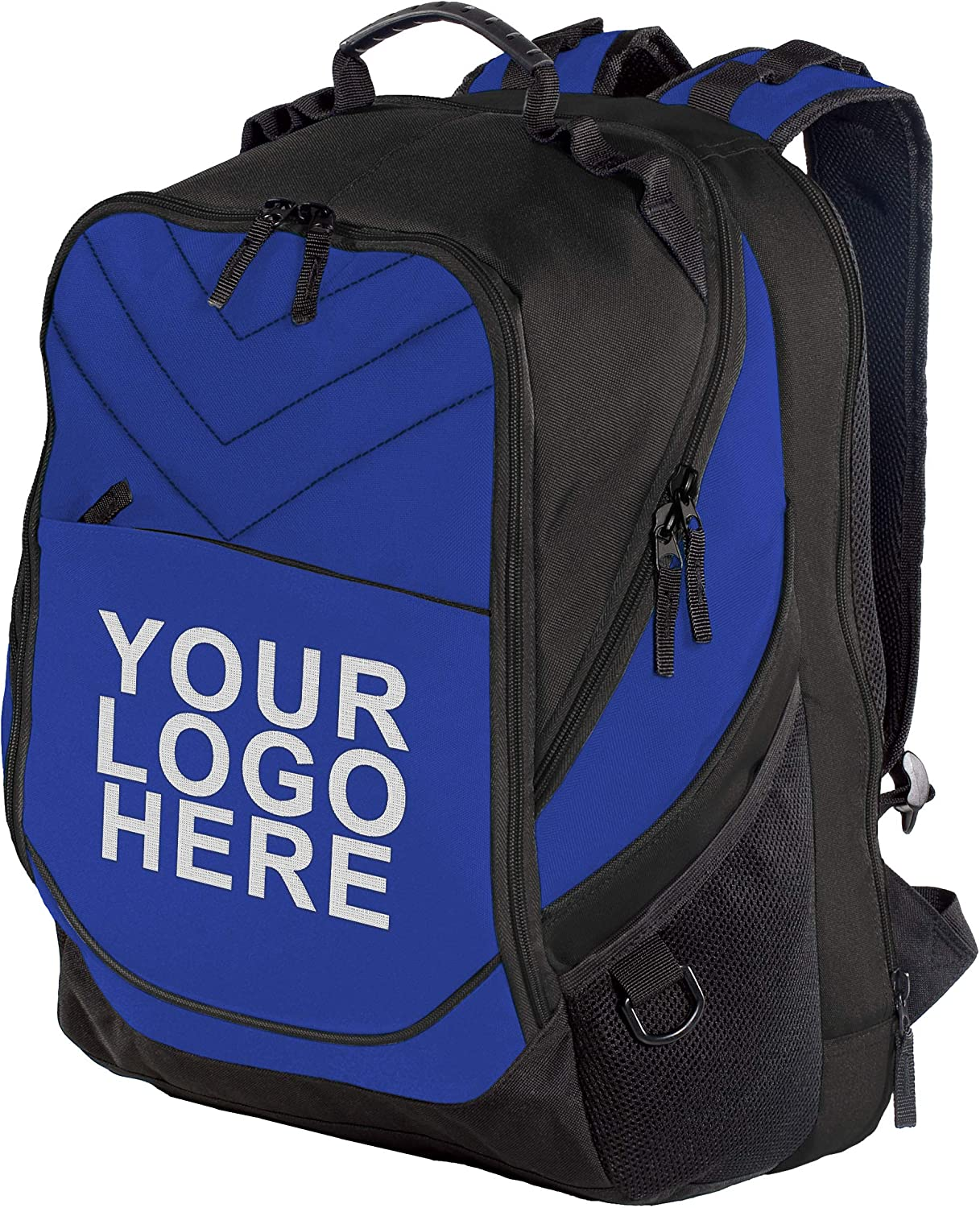 "Personalized Custom Business Computer Backpack - Add Your Logo (17"" Laptops)"