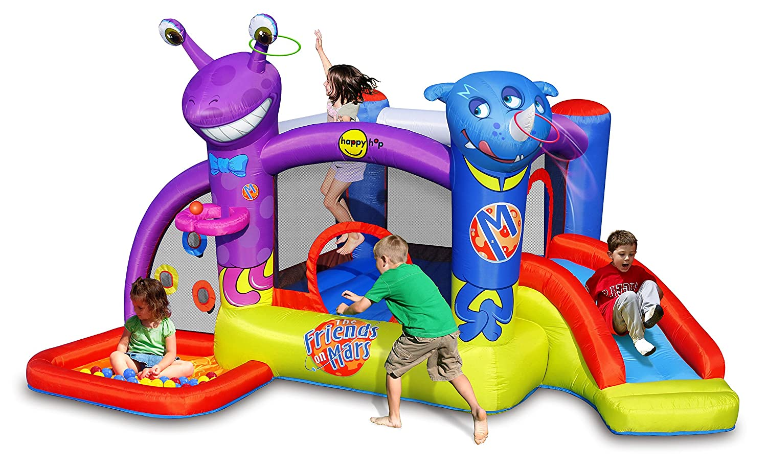 Inflable Friends on Mars 9273 Happy Hop: Amazon.es: Juguetes y juegos