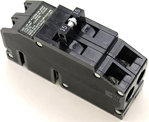 QC-15 Thomas Betts Circuit Breaker 2 Pole 15 Amp 240V Fits Zinsco Sylvania