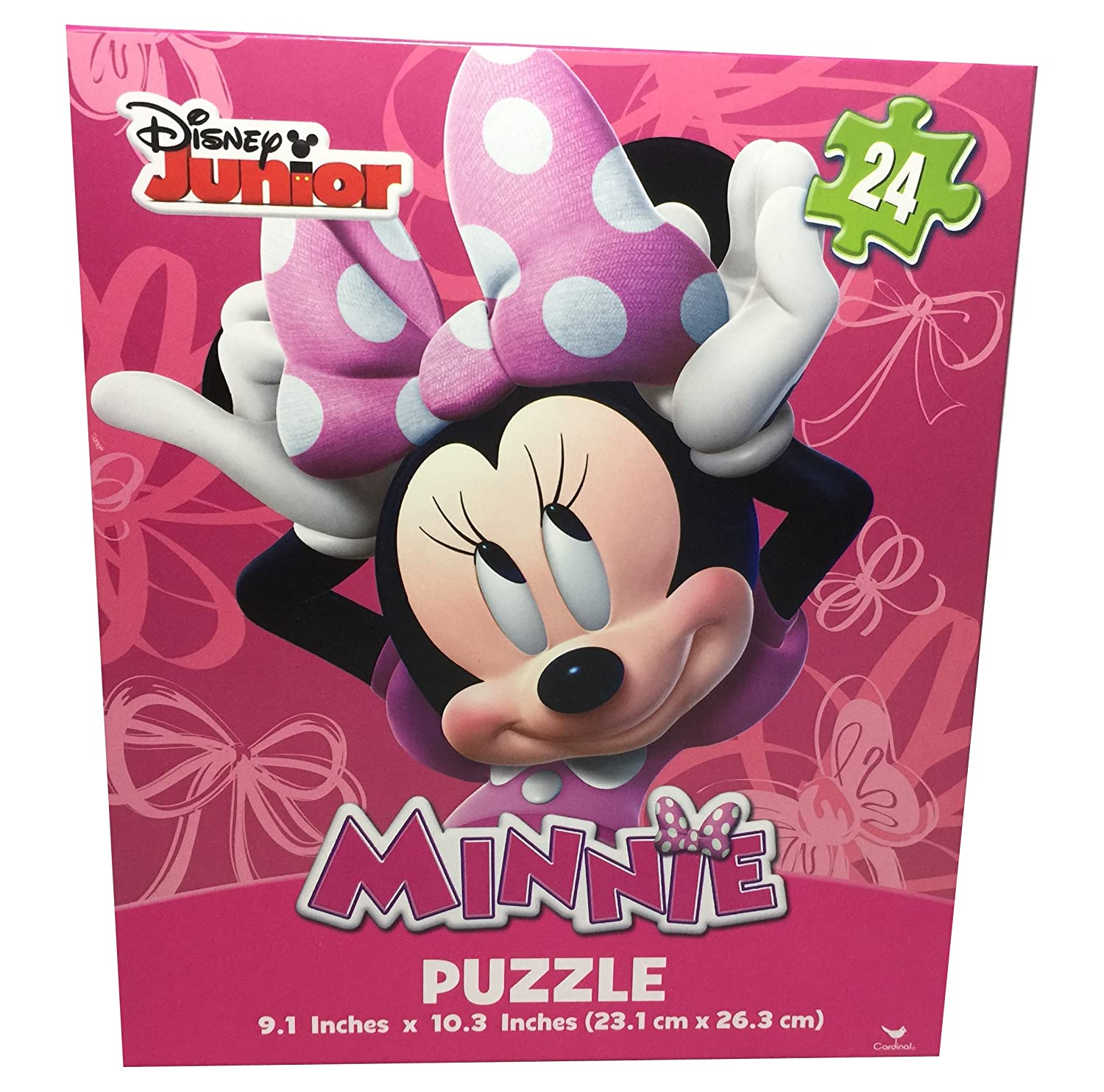 Set of 2 Disney Minnie Mouse and Daisy Duck in City Puzzle Seasons Merchandise