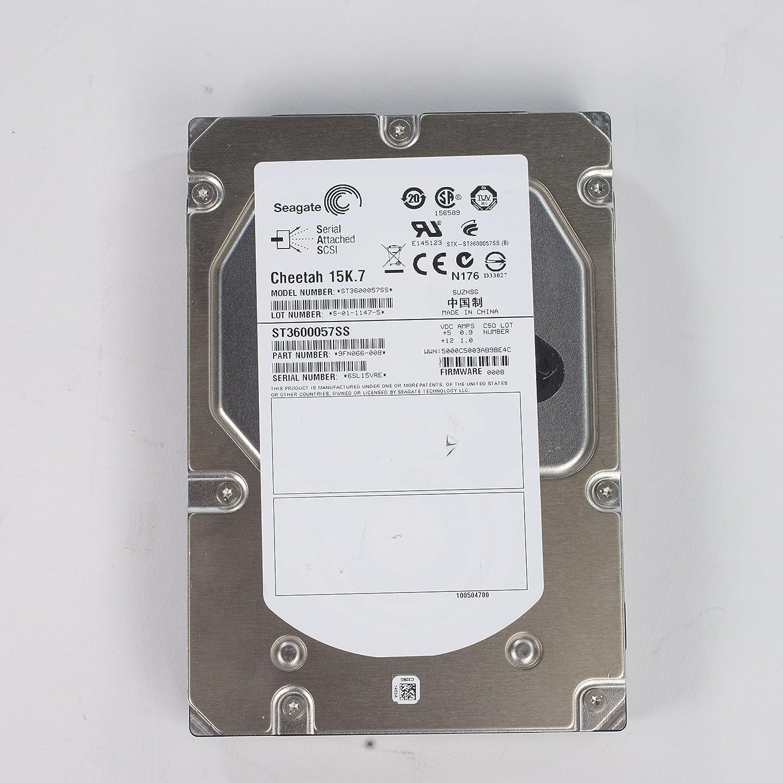 Seagate Cheetah 15K.7 600 GB 15000RPM SAS 6 Gb/s 16MB Cache 3.5 Inch Internal Bare Drive ST3600057SS