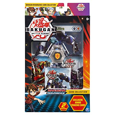 Bakugan, Deluxe Battle Brawlers Card Collection with Jumbo Foil Gorthion Ultra Card, for Ages 6 and Up: Toys & Games