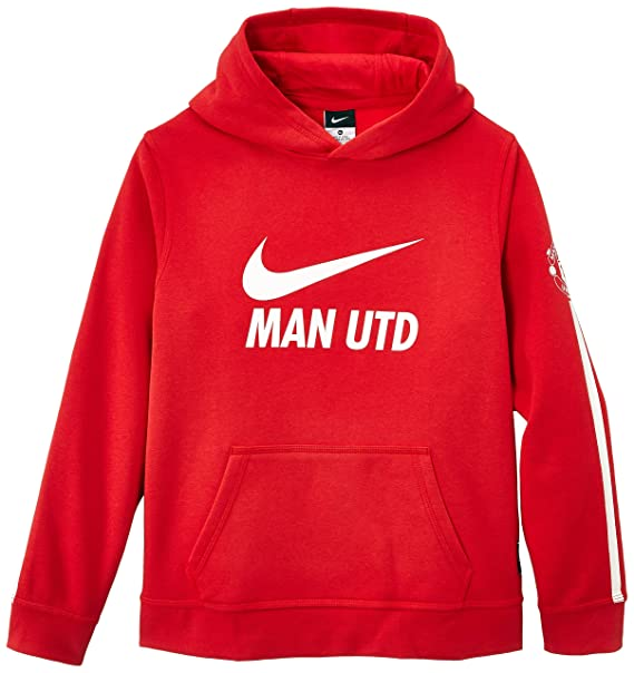 2 NIKE FOOTBALL HOODIES RED LARGE NAVY XL
