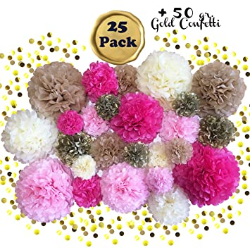 Amazon Voted 1 Tissue Paper Pom Pom Sets Sophisticrafted