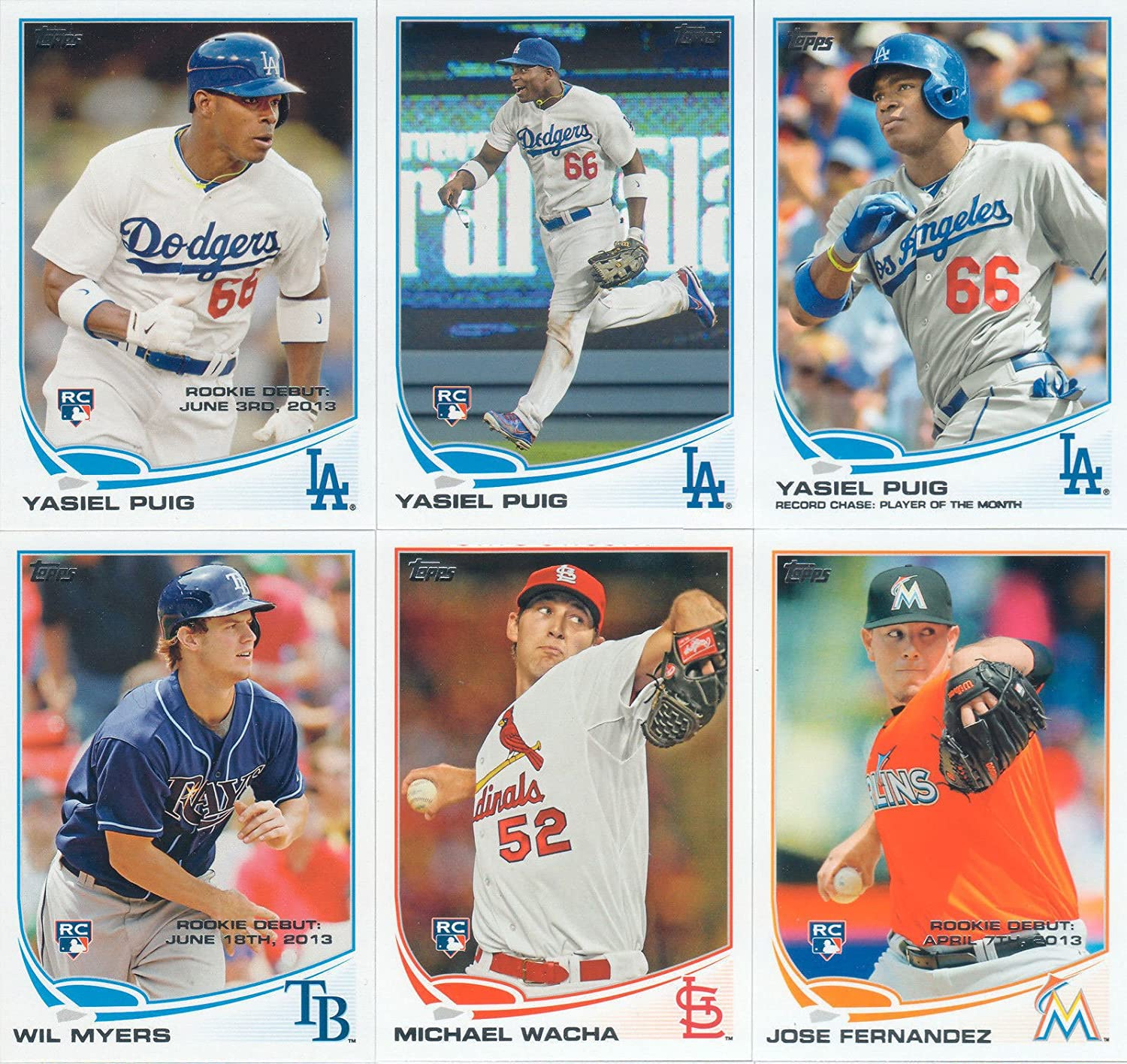 2013 Topps Traded MLB Baseball Updates and Highlights Series 330 Card Complete Mint Set Loaded with Plus Rookie Cards including Christian Yelich and Gerrit Cole