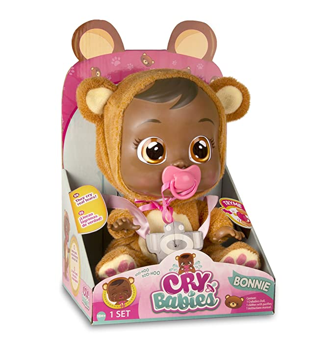 Amazon.com: Cry bebés Bonnie (afroamericano) característica ...