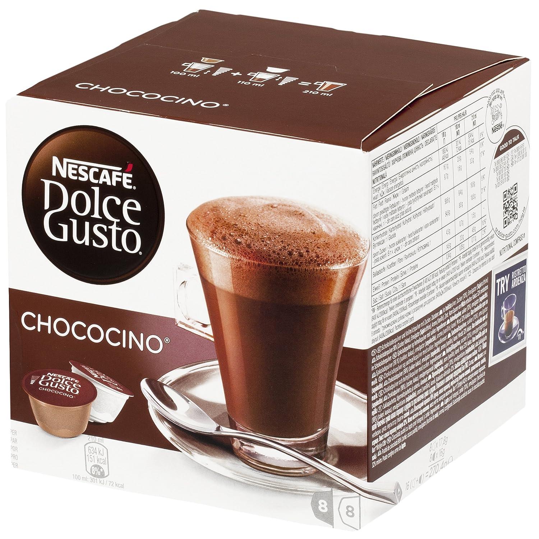Nescafé Dolce Gusto Chococino Hot Chocolate (16 Capsules) 8 ...