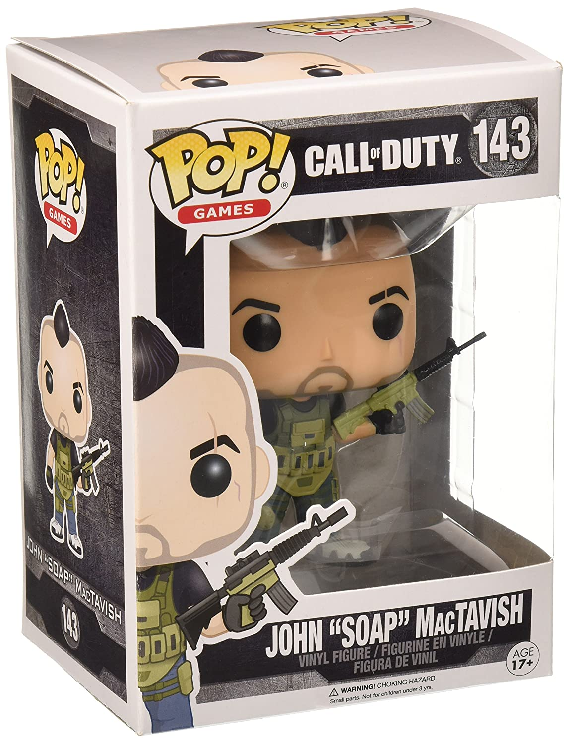 Funko Call of Duty John SOAP MacTavish Pop Games Figure