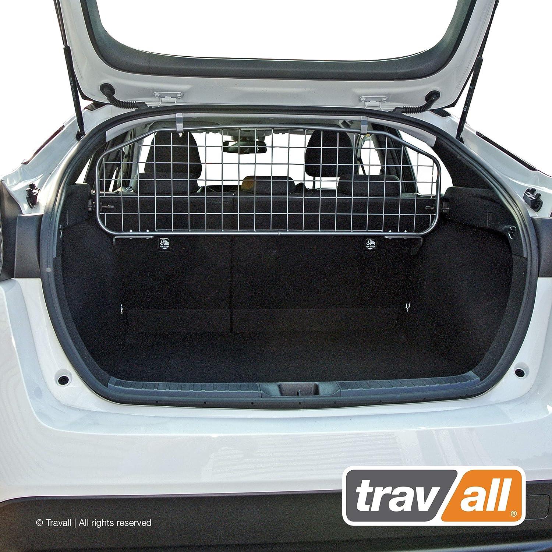 Travall Guard Grilles Pare-Chein pour Voiture TDG1305 Grille de s/éparation avec rev/êtement en Poudre de Nylon