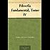 Filosofía Fundamental, Tomo IV