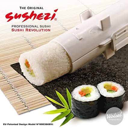 36185e2ab866 Sushezi Home Maker-Perfect Sushi, Made Easy, 1, 30 x 6 x 6 cm